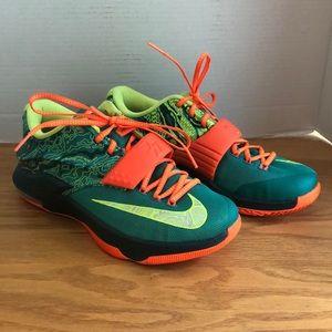 Nike KD VII Kevin Durant 7 Weatherman Size 8.5